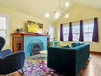 Living room with Wit & Whimsy