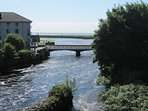 View of the River Corrib and of Galway Bay from the Apartment