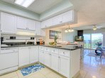 Spacious kitchen to make your stay comfortable - utensils, cutlery, glasses, pots & pans are supplied!