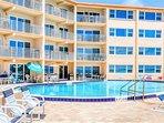 Enjoy the sun, sand, pool and ocean!