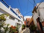 Paseo calle Las Palmitas