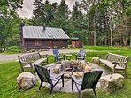 Tranquility awaits you at this 3-bedroom vacation rental cabin in Londonderry!