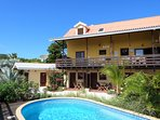 Vooraanzicht Villa Topzicht Curaçao