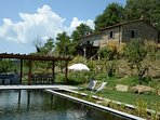 Casa dell'Ortolano and its new bio-pool