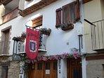 Vivienda en el centro histórico de Rubielos de Mora.