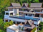 Villa Yang Som Phuket - Aerial View