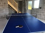 Table tennis in the new double garage