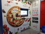 Onsite Il Forno pizza vending machine . Hot fresh pizza, ready in 3 minutes and available 24 hours.