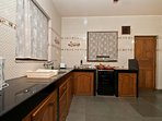 3 BHK Villa with spacious rooms and well equipped kitchen