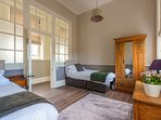Cook's Suite - the beds in the 2nd bedroom can be configured as 2 x 3ft or 1 x 6ft