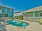 Pool can be heated for an additional fee.