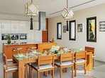 Villa Padma Phuket - Kitchen & Breakfast Area