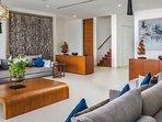 Villa Padma Phuket - Living Room Pool Level