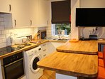 comprehensive kitchen with everything you need