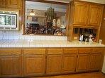 Microwave, Can Opener, Blender and Juicer.  Background  Dining/Living Rooms&Den