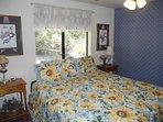 King Bedroom's King Bed, Ceiling Fan
