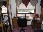 Office Area in Den next to Den Queen  Sofa Bed
