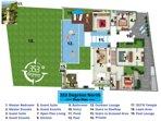 Villa 353 Degrees North - Floor Plan