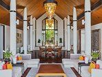 Villa Padma Phuket - Dining & Living Area