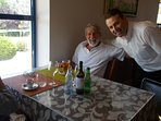 Meet Jorge,the friendly owner of Sabor do Pinhal, he will make you feel welcome at his restaurant.