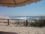 The dramatic Atlantic coast boasts natural, clean & quiet beaches, plus wonderful seafood .