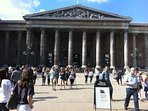 The British Museum is just across Russell Square so it's just a five minute walk away