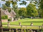 The charming village of Wyck Rissington...