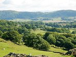 Cartmel Valley-fells close to  our house