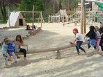 Zell am Ziller new playground.