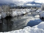 Whistler winter from the River of Golden Dreams