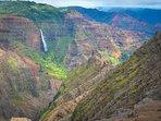 Waimea Canyon Water Falls