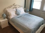 Bedroom 1 has a kingsize rococco bed with quality mattress and choice of pillow types