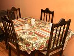 dinning table for guests