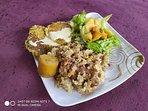 Date la oportunidad de descubrir la variedad y deliciosos sabores de la comida vegetariana.