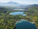 Le plateau et ses lacs