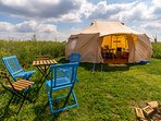 Glamping tent - King of Hearts 4 person