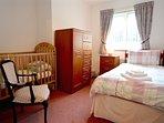 Bedroom 4 - Single bed plus cot