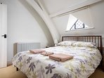 A characterful and stylish bedroom