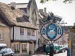 The quintessential Cotswolds village of Northleach...