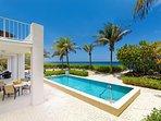 Stunning pool with ocean views.