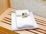 Coronari - sauna detail