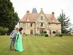 mariage, réception, amour, famille, weekend insolite, jardin, amis, lieu insolite, original, château