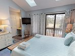 Large King Master Suite with Lots of Sunlight and Views