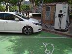 Punto de recarga vehículos eléctricos cerca del apartamento