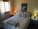 Bedroom 2 (queen) has air conditioner