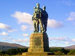 Commando Memorial close by, one of Scotland's best known monuments