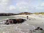 Visit the beautiful silver sand beaches of Morar
