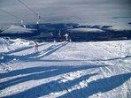 Ski locally at Nevis Range or further afield at Glencoe