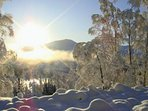 Stunning winter scenery