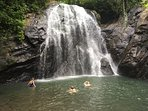 Cool off in nearby Vuadomo Waterfall.